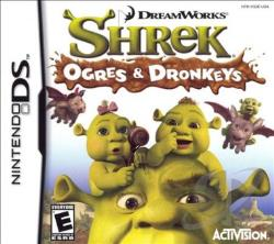 Shrek: Ogres & Dronkeys NDS Cover Art