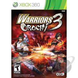 Warriors Orochi 3 XB360 Cover Art