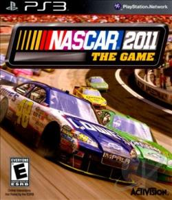NASCAR The Game 2011 PS3 Cover Art