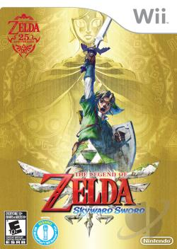 Legend of Zelda: Skyward Sword WII Cover Art