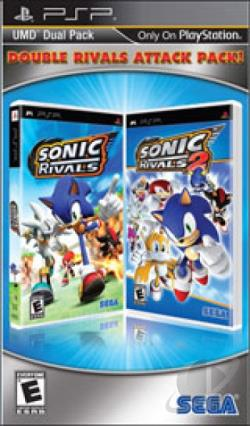 Double Rivals Attack Pack! PSP Cover Art