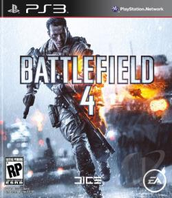 Battlefield 4 PS3 Cover Art