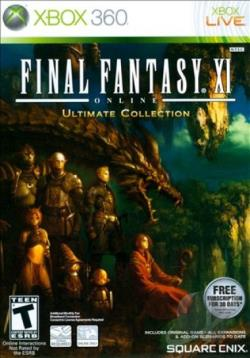 Final Fantasy XI Online: Ultimate Collection XB360 Cover Art