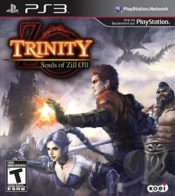 Trinity: Souls of Zill O'll PS3 Cover Art