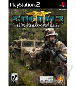 SOCOM 3: U.S. Navy SEALs PS2 Cover Art