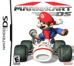 Mario Kart DS NDS Cover Art