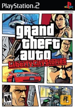 Grand Theft Auto: Liberty City Stories PS2 Cover Art