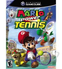 Mario Power Tennis GQ Cover Art