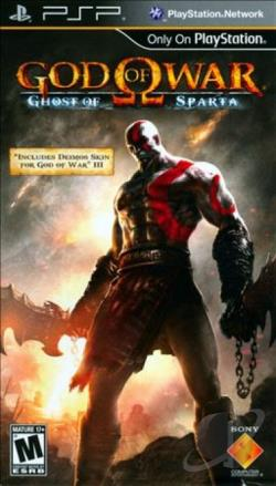 God of War: Ghost of Sparta PSP Cover Art
