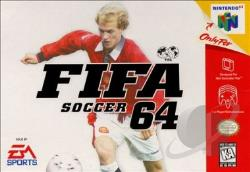 FIFA Soccer 64 N64 Cover Art