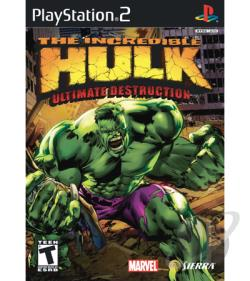Incredible Hulk: Ultimate Destruction PS2 Cover Art