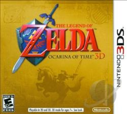 Legend Of Zelda: Ocarina of Time 3D 3DS Cover Art