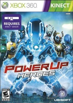PowerUp Heroes XB360 Cover Art