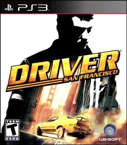 Driver San Francisco: Collector's Edition PS3 Cover Art