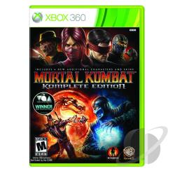 Mortal Kombat Komplete Edition XB360 Cover Art