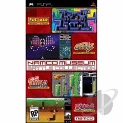 Namco Museum Battle Collection PSP Cover Art