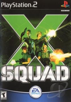 X Squad PS2 Cover Art