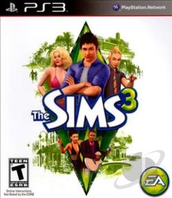 Sims 3 PS3 Cover Art