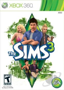 Sims 3 XB360 Cover Art