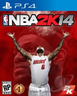 NBA 2K14 PS4 Cover Art