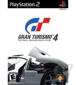 Gran Turismo 4 PS2 Cover Art