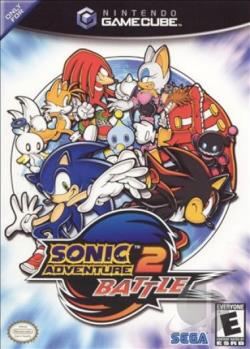 Sonic Adventure 2 Battle GQ Cover Art