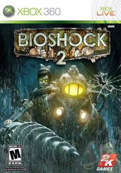 BioShock 2 XB360 Cover Art