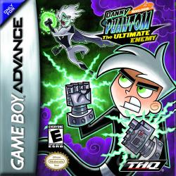 Danny Phantom: The Ultimate Enemy GBA Cover Art