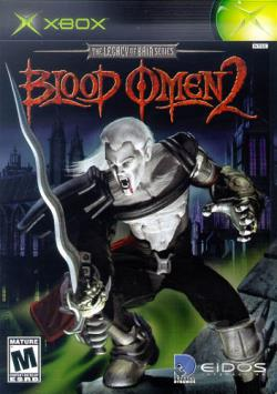 Blood Omen 2 XB Cover Art