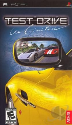 Test Drive Unlimited PSP Cover Art
