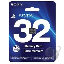 32GB Memory Card PSV Cover Art