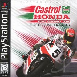 Castrol Honda Superbike Racing PS Cover Art