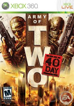 Army of Two: The 40th Day XB360 Cover Art