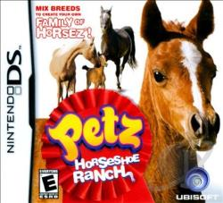 Petz: Horseshoe Ranch NDS Cover Art