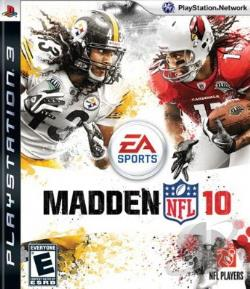 Madden NFL 10 PS3 Cover Art