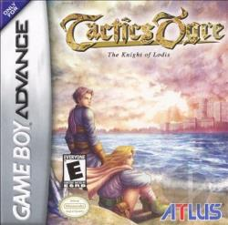 Tactics Ogre: The Knight Of Lodis GBA Cover Art
