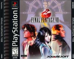 Final Fantasy VIII PS Cover Art