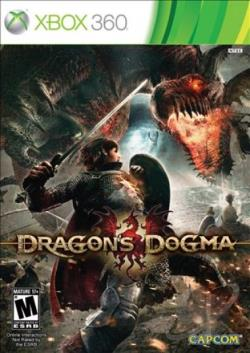 Dragon's Dogma XB360 Cover Art