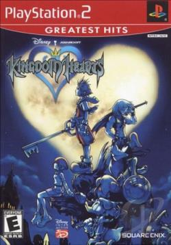 Kingdom Hearts PS2 Cover Art