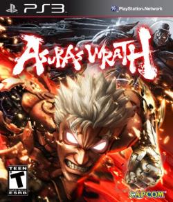 Asura's Wrath PS3 Cover Art