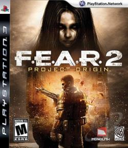 F.E.A.R. 2: Project Origin PS3 Cover Art