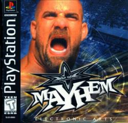 WCW Mayhem PS Cover Art
