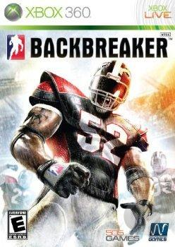 Backbreaker XB360 Cover Art