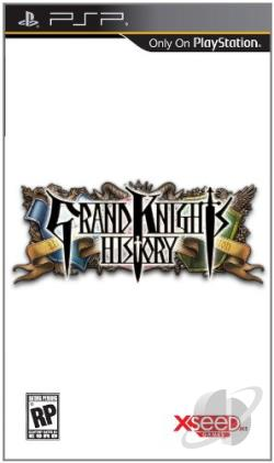 Grand Knights History PSP Cover Art