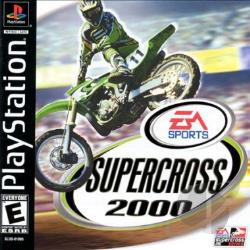 Supercross 2000 PS Cover Art