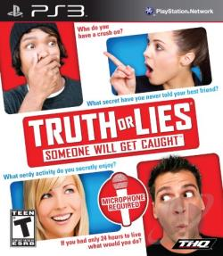 Truth or Lies PS3 Cover Art