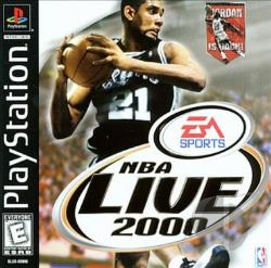 NBA Live 2000 PS Cover Art