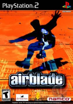 Airblade PS2 Cover Art