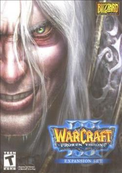 WarCraft III: The Frozen Throne PCG Cover Art