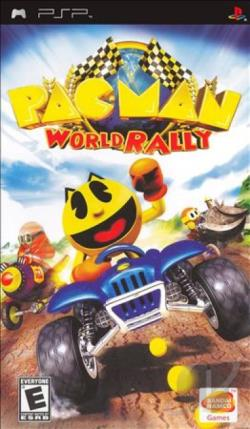 Pac-Man World Rally PSP Cover Art
